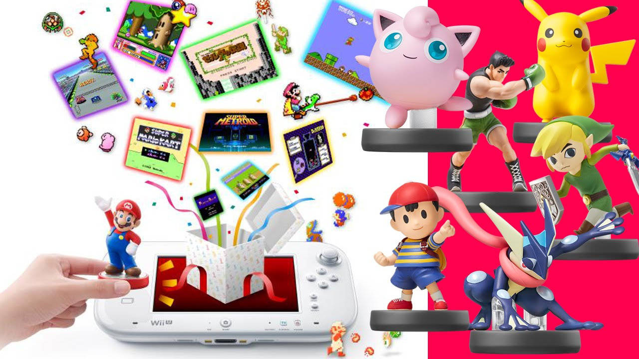 Unlocking Every Game in Amiibo Tap - Free Wii U Download - May 2015
