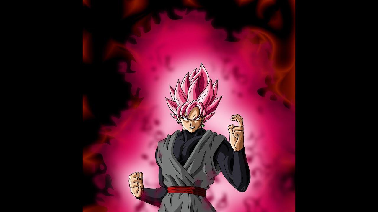 Goku Black Super Saiyan Rose: Goku Black Super Saiyan Rose Speed Drawing