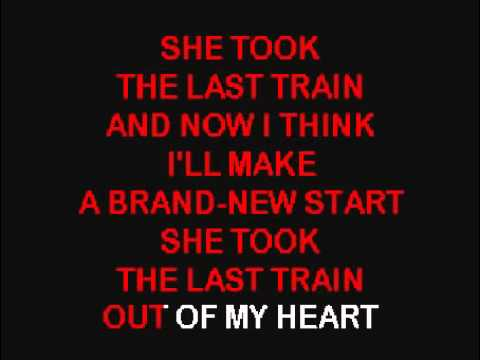 Heartbreak station   Karaoke