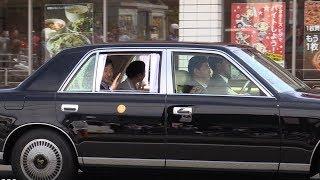 天皇、皇后両陛下は1日、全国植樹祭に出席するため愛知県を訪問された...