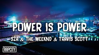 SZA, The Weeknd, Travis Scott - Power Is Power (Lyrics) Game Of Thrones