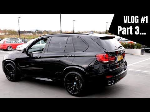 VLOG #1 - Collecting My 2018 BMW X5 40d | Triple Black | B&O Upgrade | First Drive!!