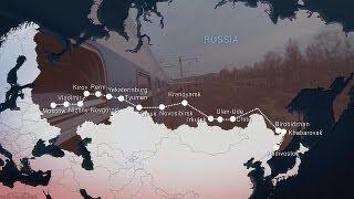 Транссиб: от Москвы до самых до окраин - life(http://ru.euronews.com/ От Москвы до восточных границ Китая, более чем на 9 тысяч километров протянулась самая длинная..., 2013-05-27T18:43:36.000Z)