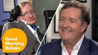 "Stephen Hawking on Donald Trump's US: ""I Fear I May Not Be Welcome"" 
