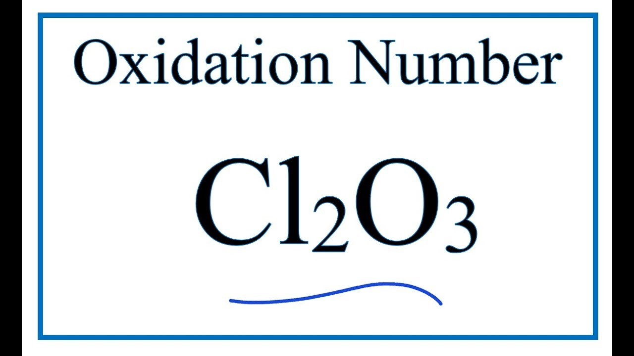 what are the oxidation numbers for fecl3