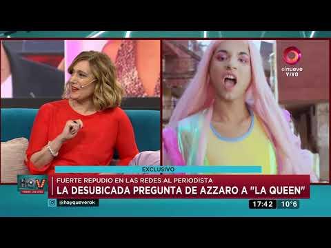 La Desubicada Pregunta De Flavio Azzaro A 'La Queen'