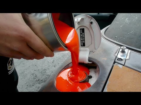 What Happens If You Fill Up a Car with Paint?
