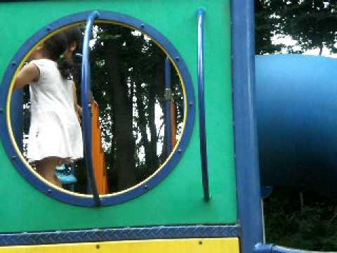 北本子供公園滑り台
