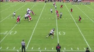 IFAF Training Tape 2021 3 Defensive pass interference Hook and turn
