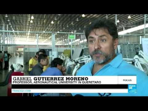 Mexico's thriving aeronautical sector helps warm up relations with France - #Focus