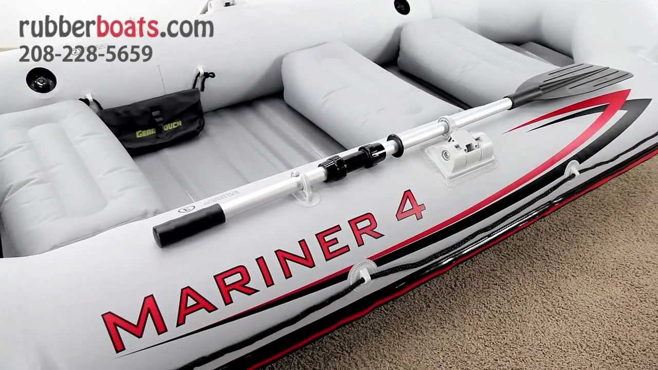 The NEW Intex Mariner 4 Inflatable Raft
