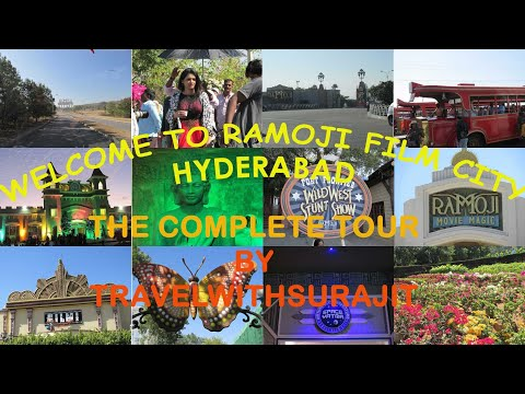 Ramoji Film City The Complete Tour Hyderabad Youtube