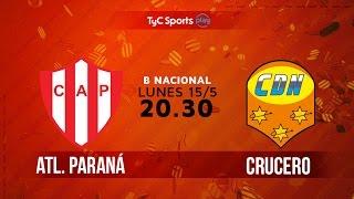 Atletico Parana vs Crucero del Norte full match