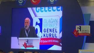 Ali İhsan ÖZTÜRK Türk Eğitim-Sen 6. Olağan Genel Kurul Konuşması