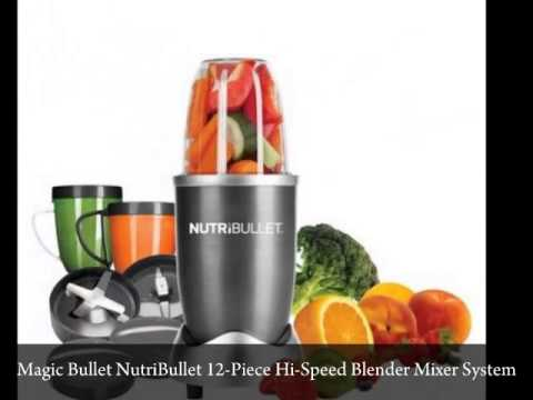 Magic Bullet Express, Party Bullet, Baby Bullet, And The Nutri Bullet