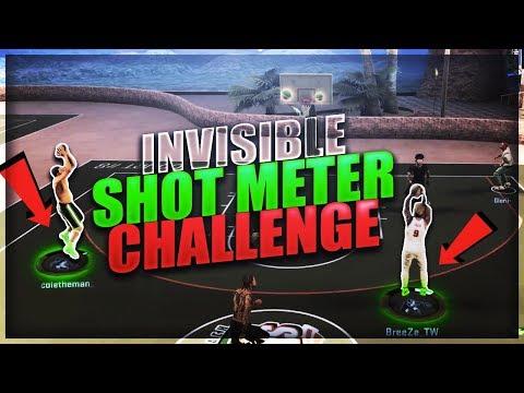 NBA 2K17 INSANE NO SHOT METER CHALLENGE 😱 SO MANY GREEN RELEASES OMG! INVISIBLE SHOT METER NBA 2K17