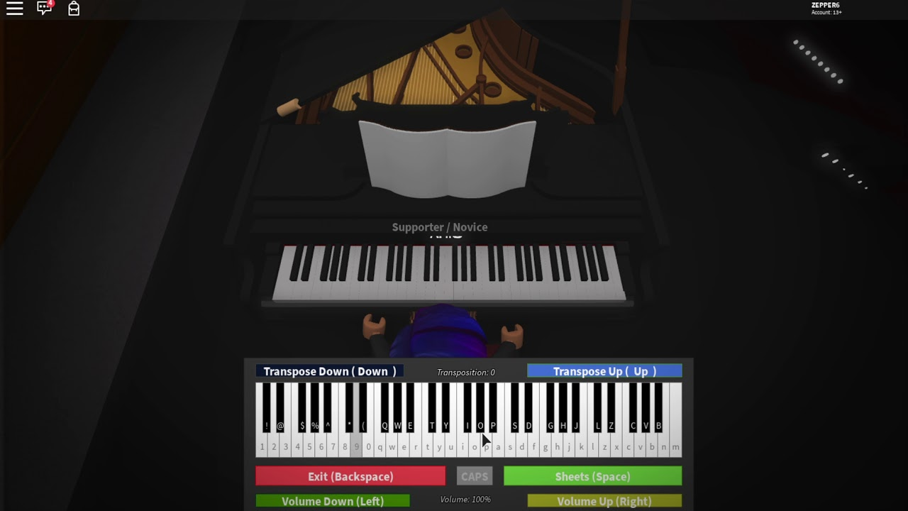Billie Eilish Ocean Eyes Roblox Piano Youtube