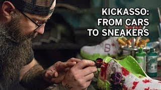 From cars to shoes, Kickasso is making his mark