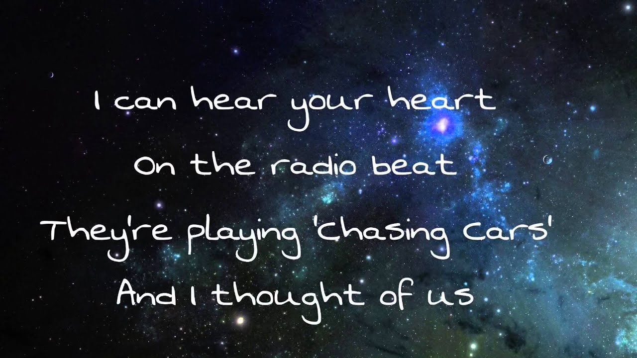 All Of The Stars - Ed Sheeran Lyrics - YouTube