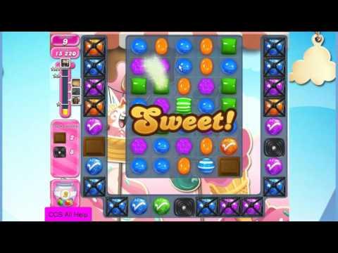 Candy Crush Saga Level 1611 NO BOOSTERS