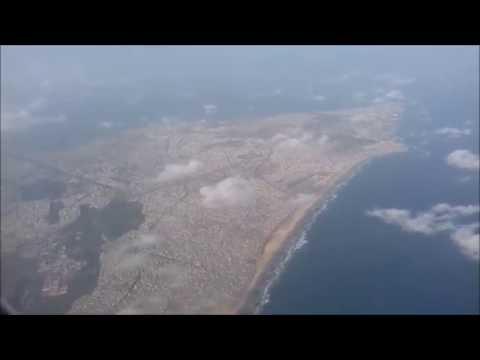 Takeoff From Dakar, Ethiopian Airlines, Senegal, August 2016