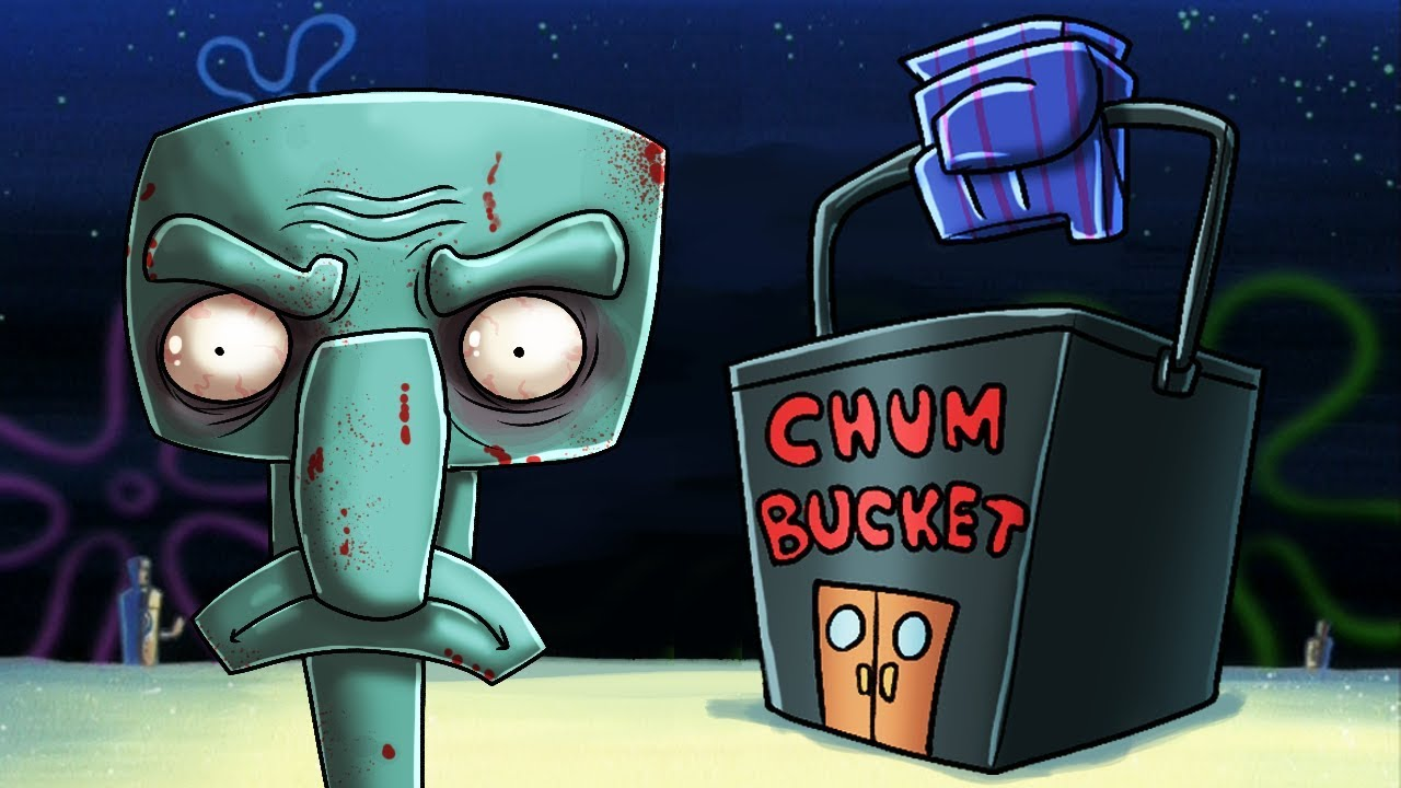 6 Am At The Chum Bucket Minecraft Spongebob Fnaf Game