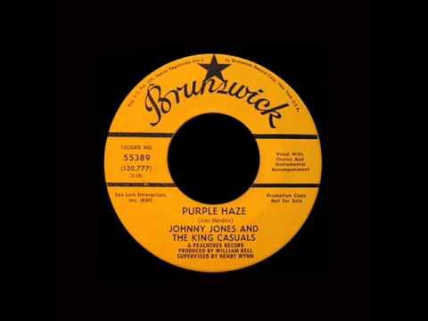Johnny Jones And The King Casuals - Purple Haze