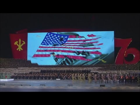 Peace is on our Bayonet - [English]   North Korea Music