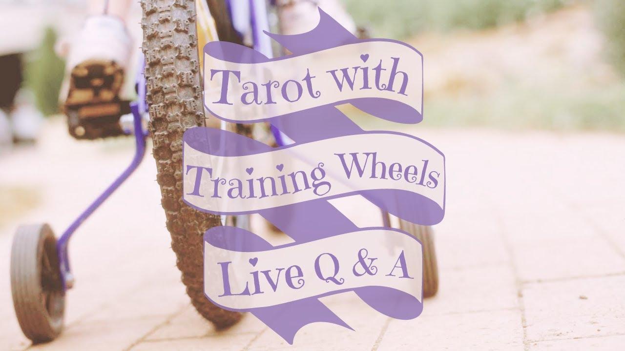 Download LIVE Q & A | Tarot with Training Wheels | Tarot 101 | Tarot for Beginners