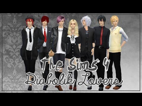 The Sims 4 Create a Sim   Anime Character   Diabolik Lovers