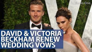 David & Victoria Beckham Renew Wedding Vows