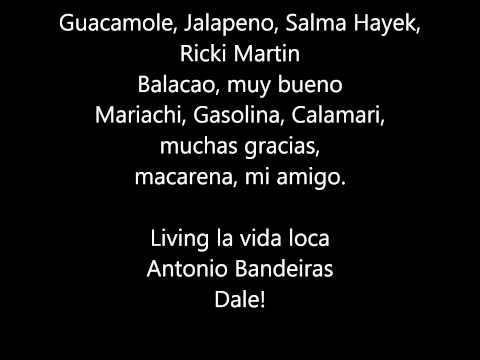 Anders Nilsen - Salsa Tequila [lyrics]