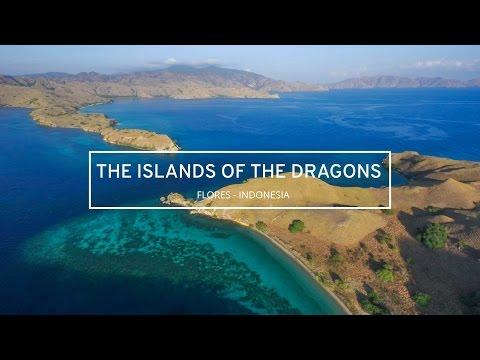 Pulau Komodo , Flores NTT   Drone Indonesia - DJI Phantom 3 Professional