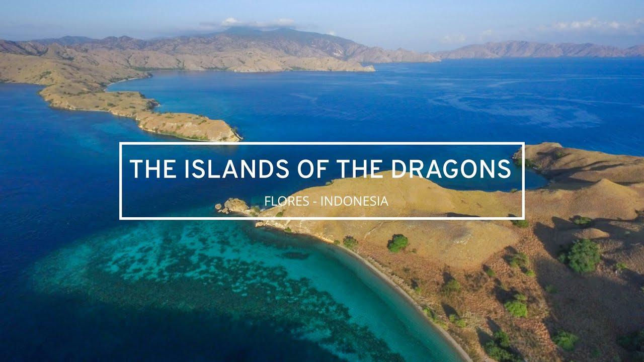 Fb Cover Hd Wallpaper Pulau Komodo Flores Ntt Drone Indonesia Dji Phantom