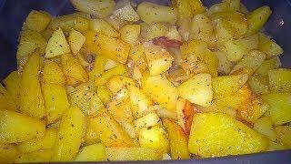 Рецепт Картофеля по Селянски по быстрому в Духовке.