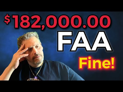 $182,000.00 FAA Fine Truth Behind the Story// Live With Mikey aka PhillyDroneLife