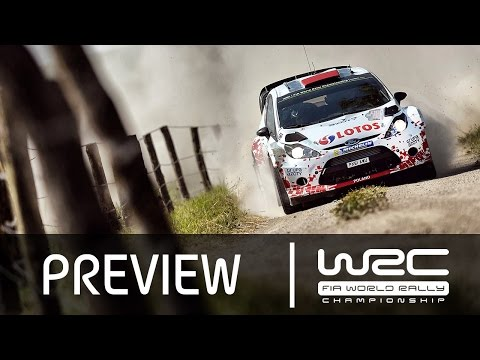 WRC - LOTOS 72nd Rally Poland 2015: PREVIEW Clip
