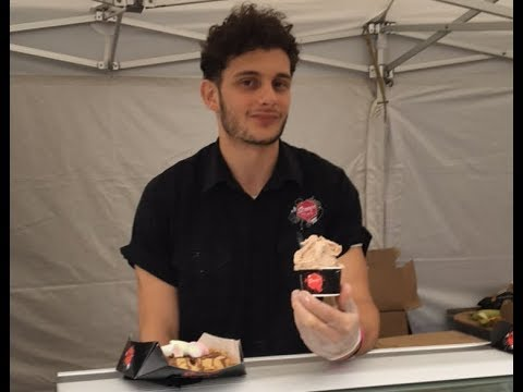 Scoops Gelato At The World Famous London Halal Food Festival 2017!!!
