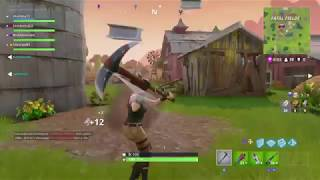 Fortnite - Aye fifa let me get some ammo (Squad mode Team kill) With voice chat