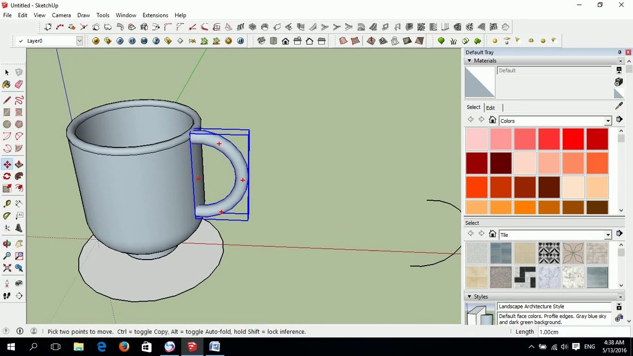 Sketchup coffee cup tutorial adnan matoobe youtube sketchup coffee cup tutorial adnan matoobe ccuart Images
