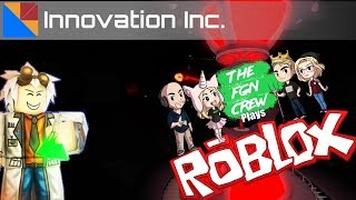 The FGN Crew Plays: ROBLOX - Innovation Arctic Base