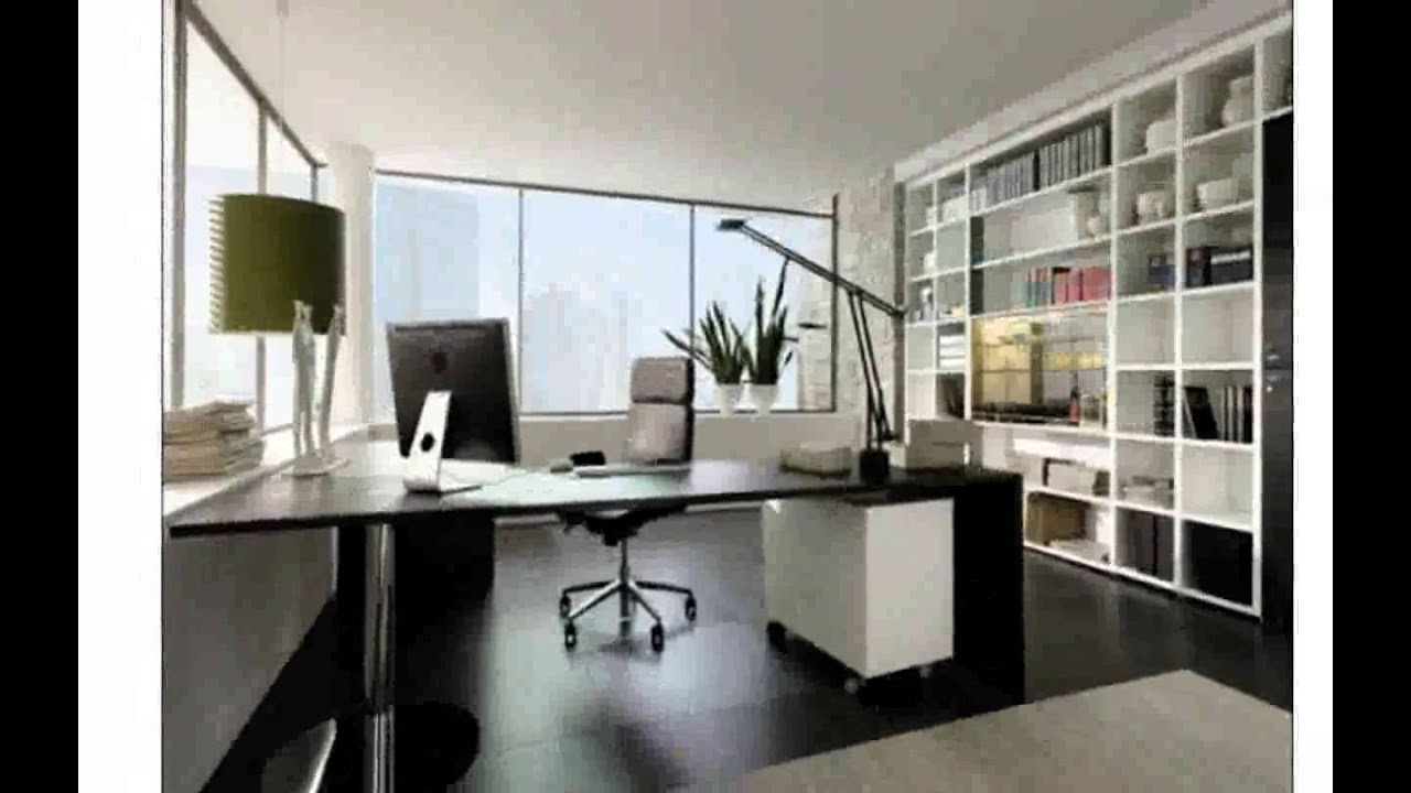 Office decoration youtube for Decoration bureau