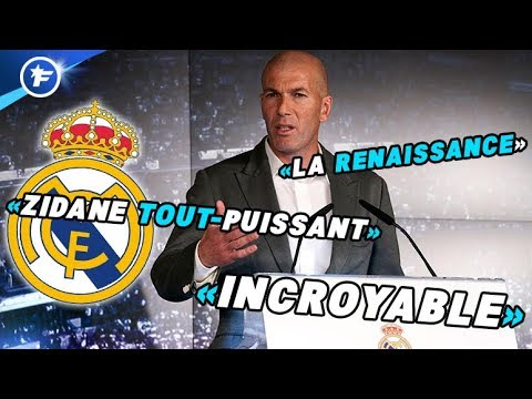 Le retour de Zinedine Zidane au Real Madrid secoue le monde du football | Revue de presse