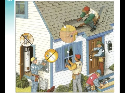 Oxford dictionary | Lesson 36: Household Problems and Repairs | Oxford picture dictionary