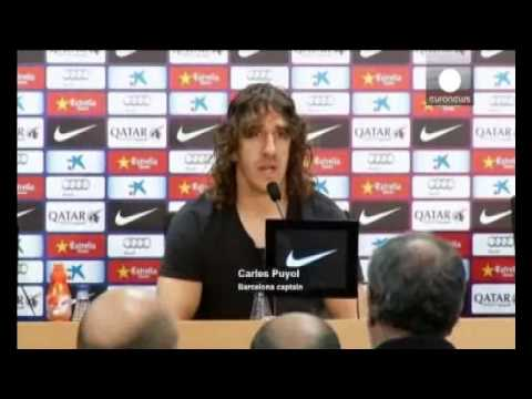 Carles Puyol to leave Barcelona end of season