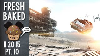 Have you seen the new Star Tours Jakku scene? | 11-21-15 Pt. 10