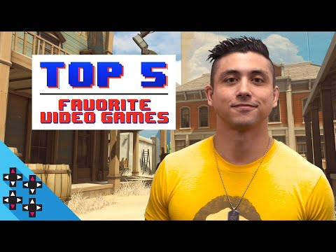 TJP's TOP 5 FAVORITE VIDEO GAMES of ALL-TIME!!!