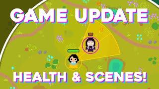 Game Update: Lebensleisten und Szenenmanager!