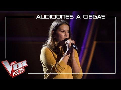 María Expósito Canta 'All I Ask'   Audiciones A Ciegas   La Voz Kids Antena 3 2019