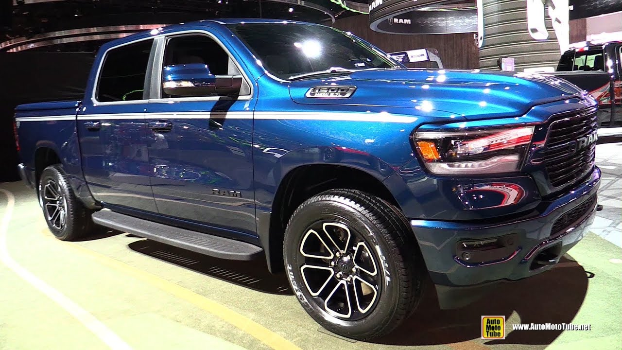 2019 Ram 1500 Big Horn Exterior And Interior Walkaround 2018